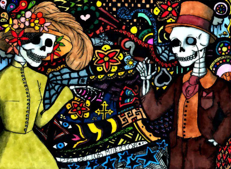 Cultura: Día de Muertos vs. Halloween | Martha_debayle | W ...
