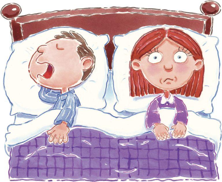 roncar causa micción frecuente