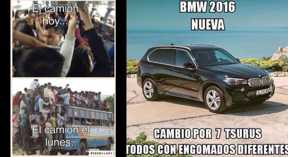"""Los mejores memes del """"Hoy No Circula"""""""