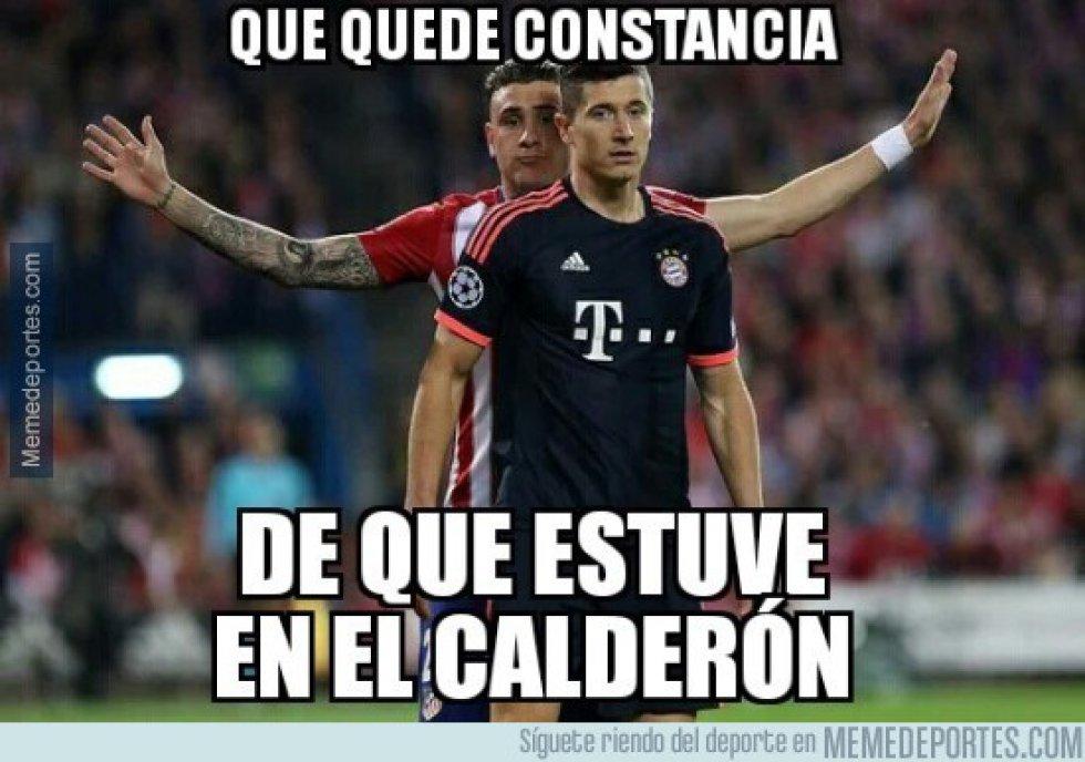 Los memes de la victoria del Atlético sobre el Bayern en Champions League