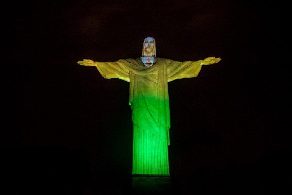 El Cristo de Corcovado en la sede de los próximos Juegos Olímpicos