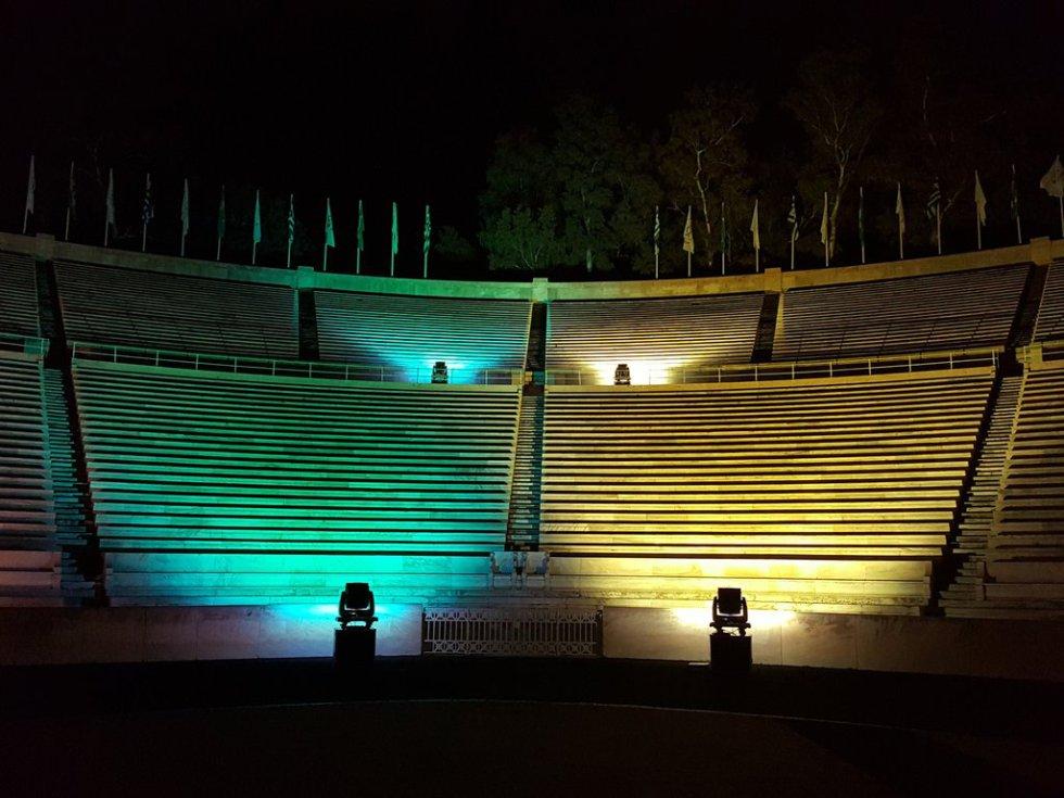 Estadio Panatinaiko en Atenas