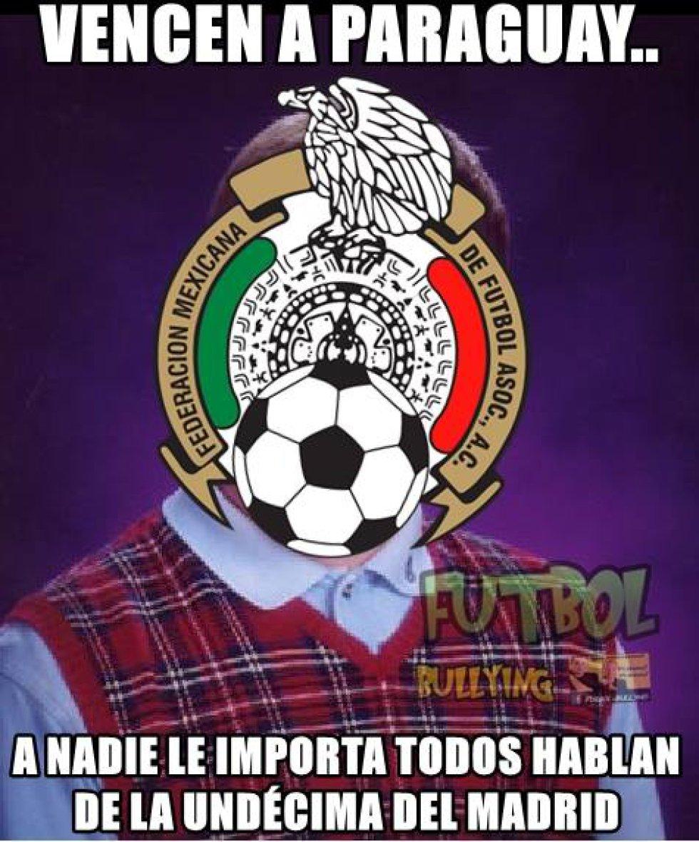 Los memes que dejó la victoria del Tricolor sobre el seleccionado guaraní