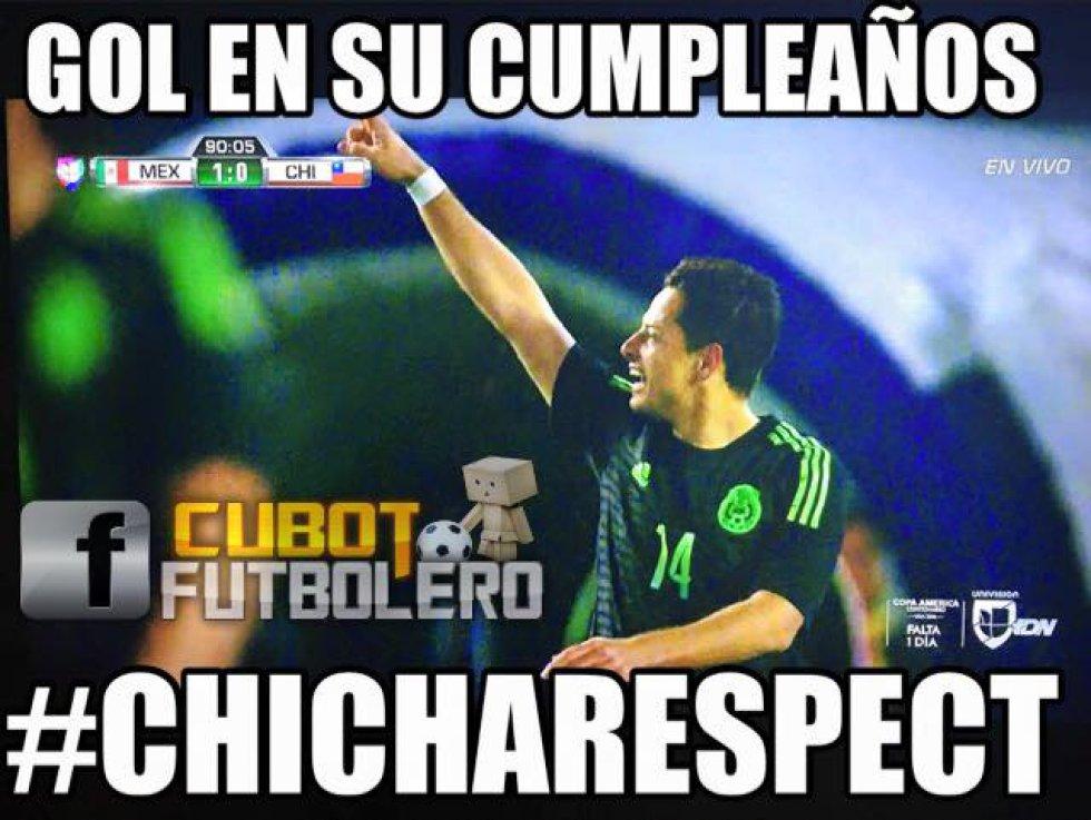 Chicharito jugó los últimos 12 minutos del partido en San Diego y marcó el tanto del triunfo del Tricolor al minuto 86