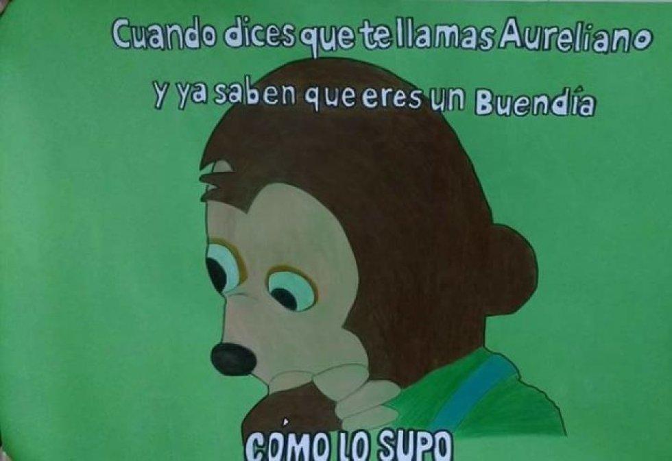 """¿Te imaginas """"Cien Años de Soledad"""" pero con memes?"""