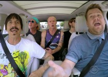 Red Hot Chili Pepper ahora se une al Carpool Karaoke