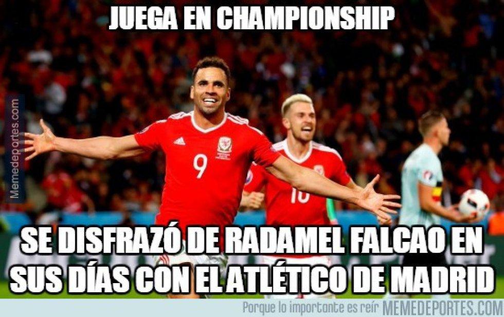 Los memes más chistosos del enfrentamiento entre Gales y Bélgica