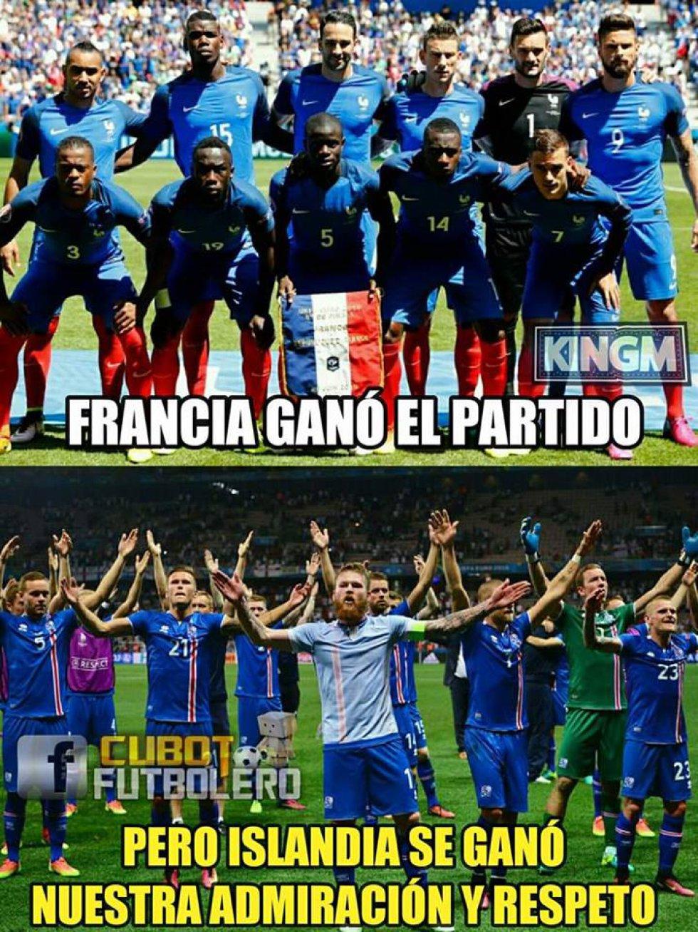 Los mejores memes del pase de Francia a semifinales de la Eurocopa