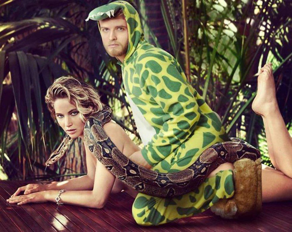Hombre se convierte en el BFF de las celebridades gracias al Photoshop