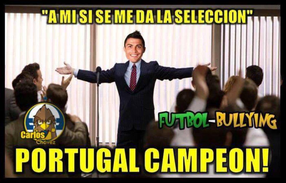 Los memes de la Gran Final de la Eurocopa entre Portugal y Francia