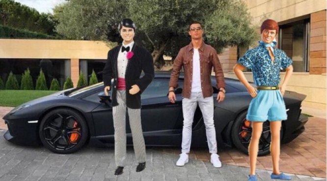 Cristiano Ronaldo es objeto de burlas por su nuevo Lamborghini