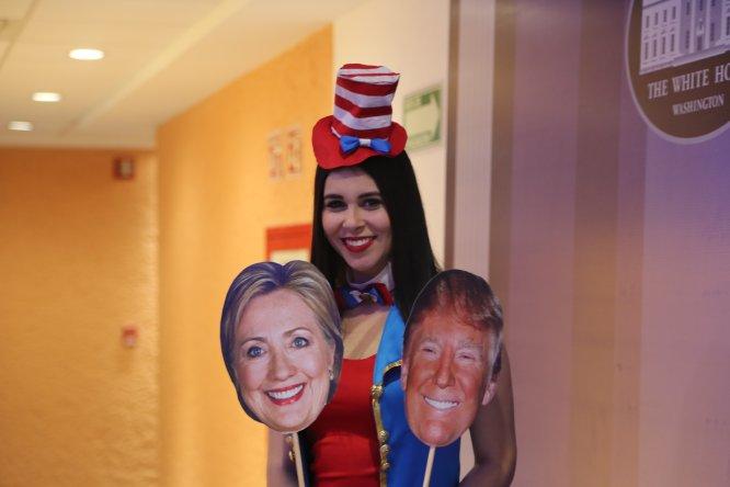 La cobertura de Twitter y la W sobre las elecciones en Estados Unidos