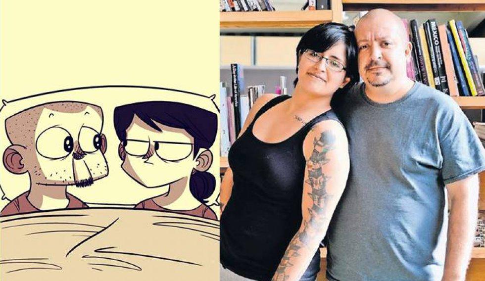 Los rostros detrás de los cómics más famosos