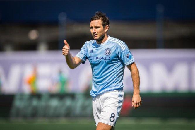 Durante la campaña 2015-16, Lampard se desenvolvió en el New York City de la MLS