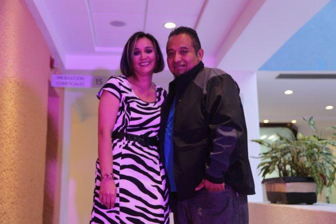 Alejandra y Néstor, pareja que quedó en el tercer lugar del concurso