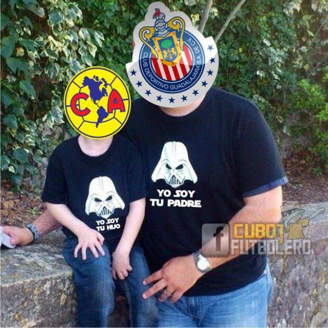 Los memes se burlan tras la caída del América ante las Chivas