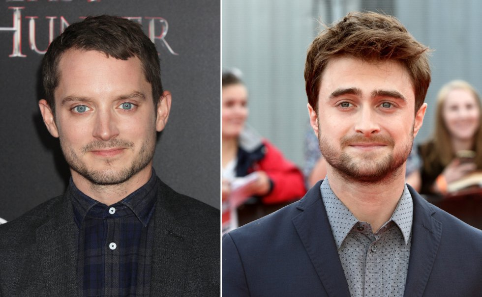 Elijah Wood y Daniel Radcliffe