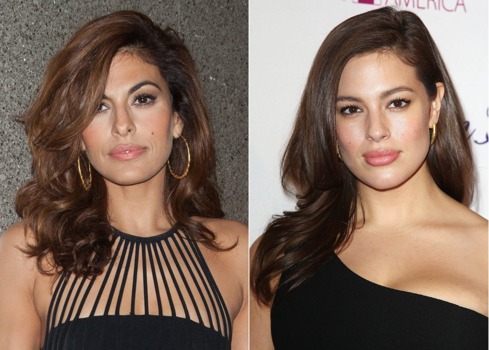 Eva Mendes y Ashley Graham