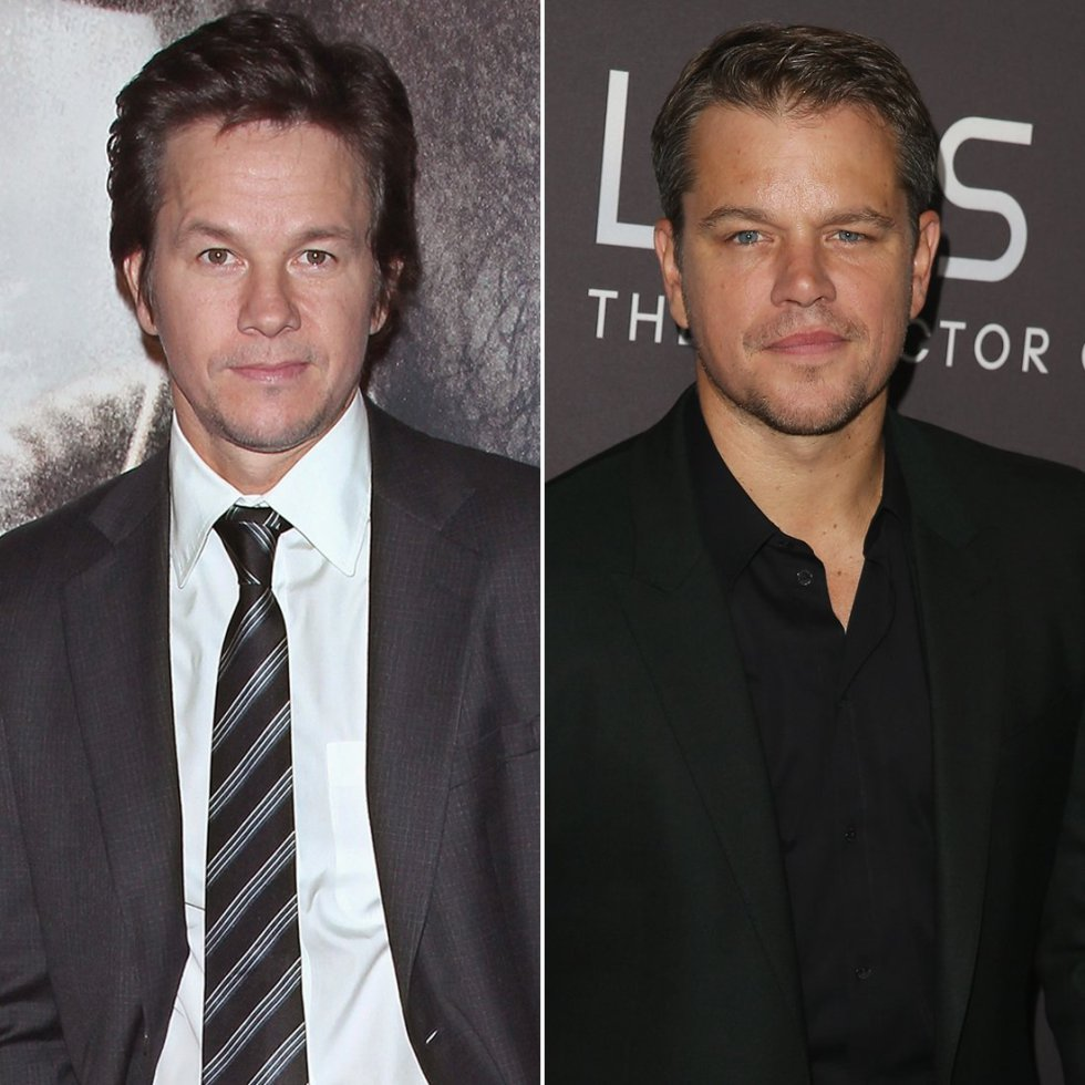 Mark Wahlberg y Matt Damon