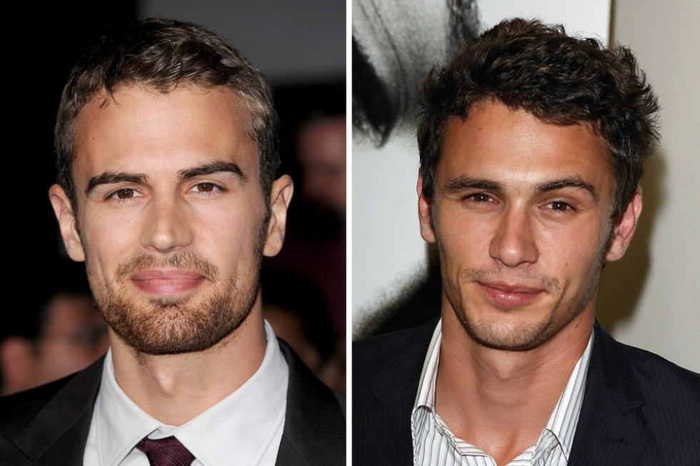 Theo James y James Franco