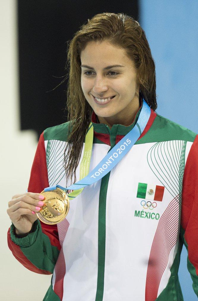 La clavadista mexicana Paola Espinosa presume en su haber dos medallas olímpicas: un bronce en Beijing 2008 y una plata en Londres 2012