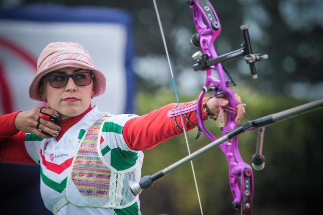 Aída Román ha convertido a México en una potencia mundial en el tiro con arco individual. Medallista de plata en Londres 2012 y premiada como la Mejor Arquera del 2014 en la especialidad de arco recurvo por la Federación Internacional de Tiro con Arco