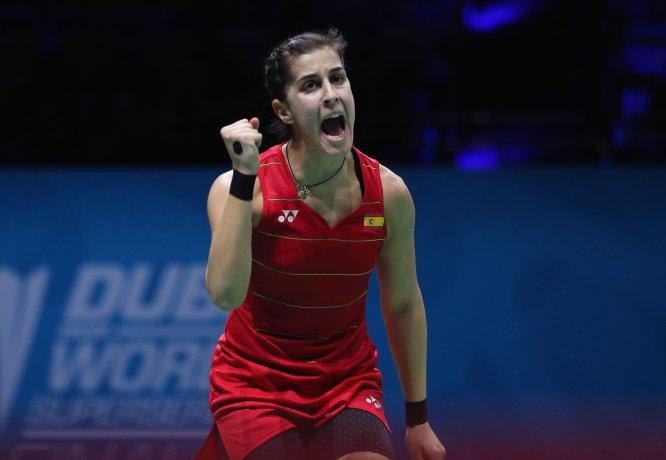 La española Carolina Marín (23 años) es la número 1 del ranking de la Federación Mundial de Badminton