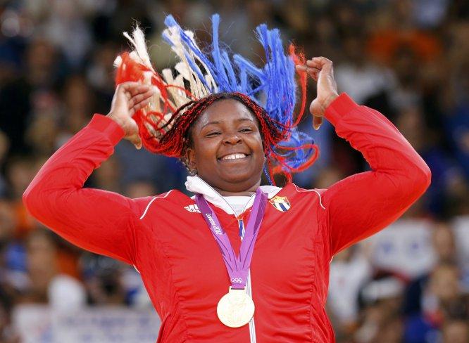 La judoca cubana Idalys Ortiz ganó bronce en Beijing 2008, oro en Londres 2012 y plata en Río 2016