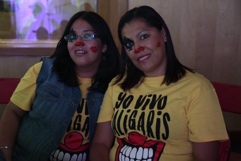 Los Caligaris are in da house!