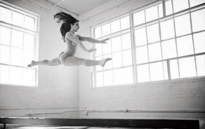 La gimnasta estadounidense Alexandra Reisman