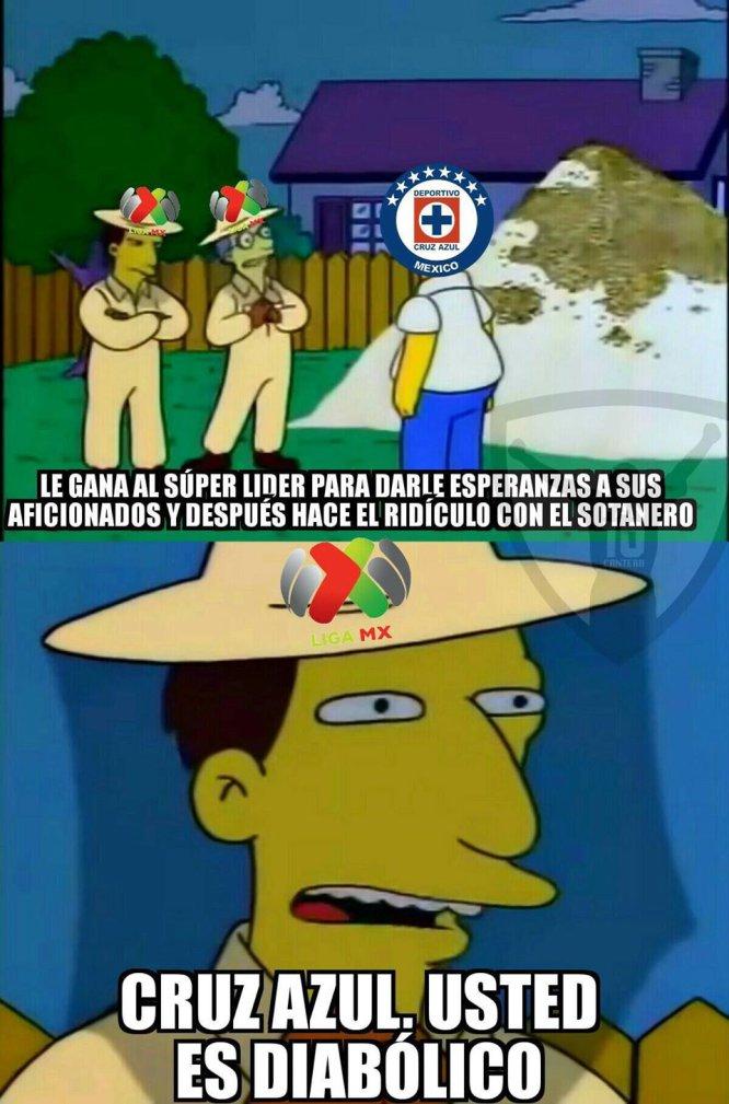 """Una nueva """"cruzazuleada"""" de la Máquina es víctima de los memes"""
