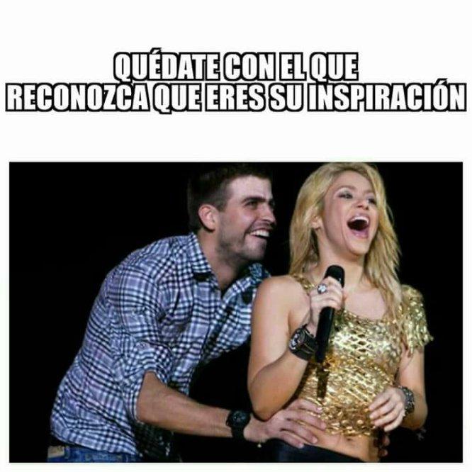 El amor de Shakira y Piqué a través de memes