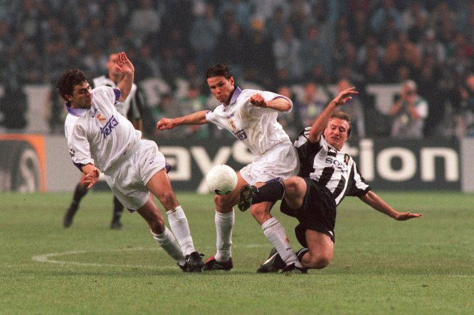 La Final de la Champions League entre Real Madrid y Juventus en 1998