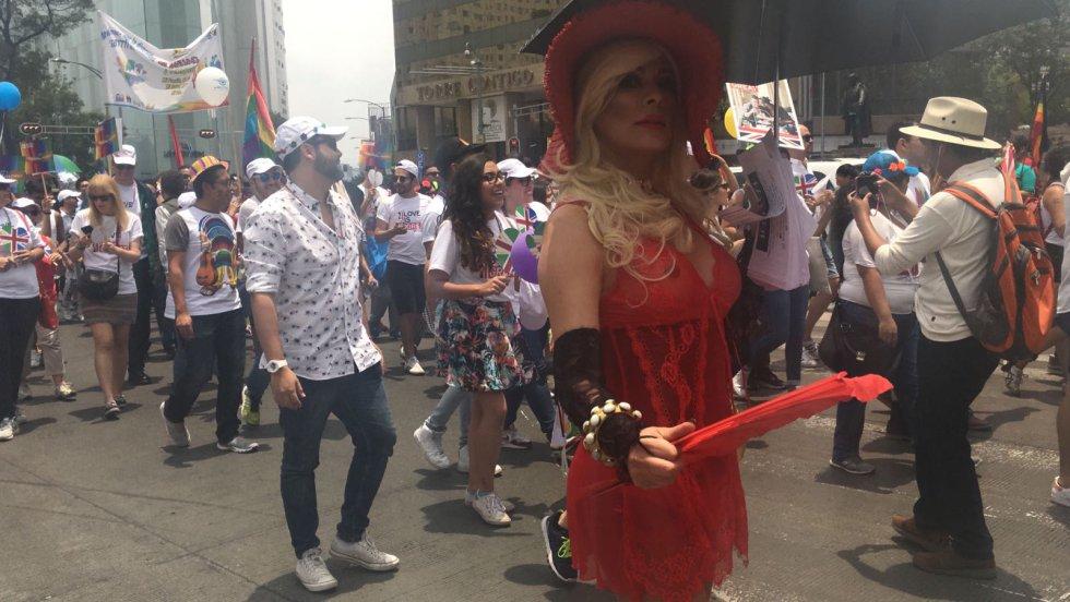 Pride 2017.: Así se vive la Marcha del Orgullo Gay 2017 en la Ciudad de México