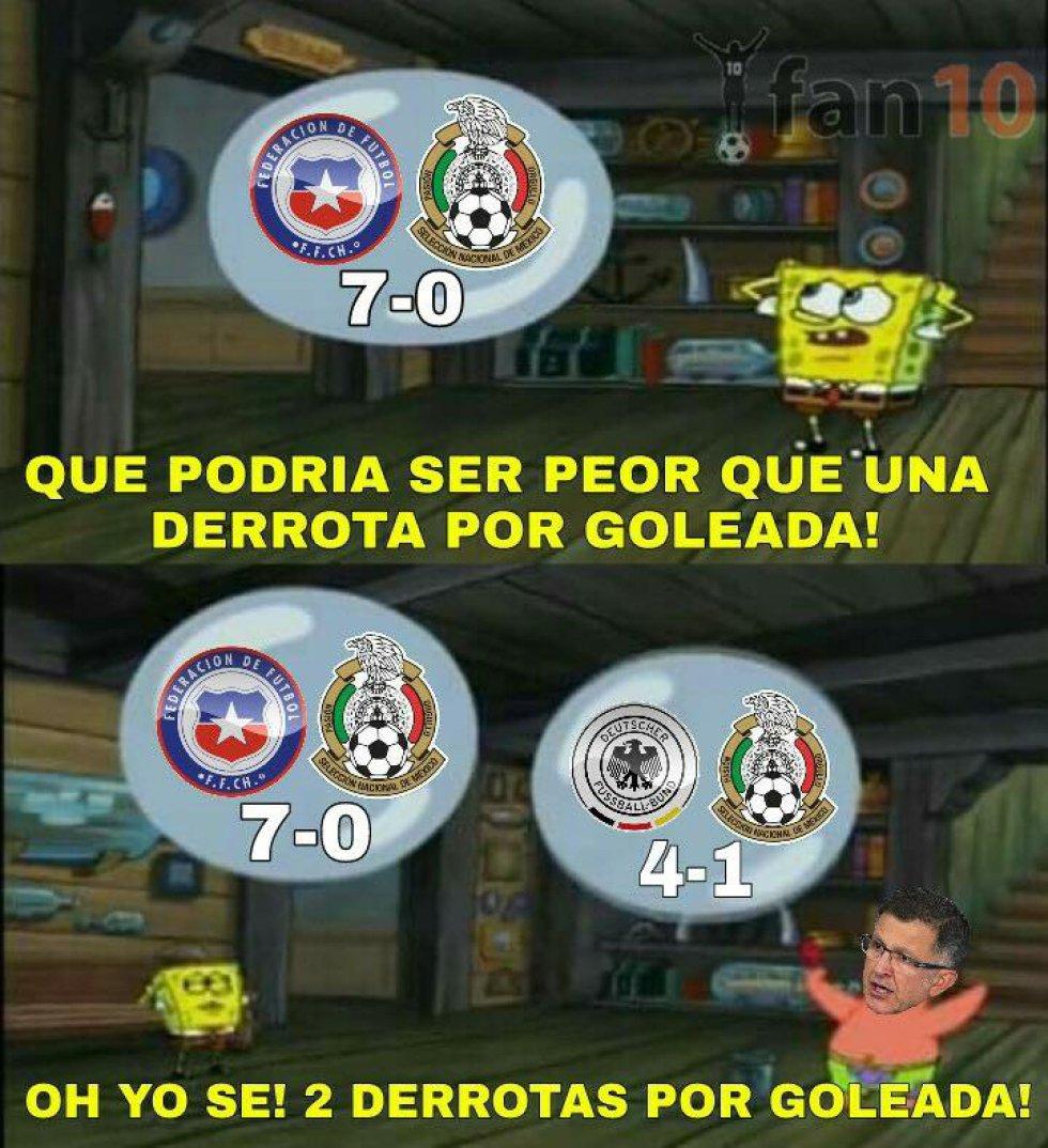 Los memes no perdonan al Tricolor tras la goleada que le puso Alemania