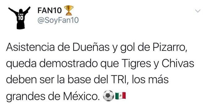 El Tri avanza a semifinales de Copa Oro