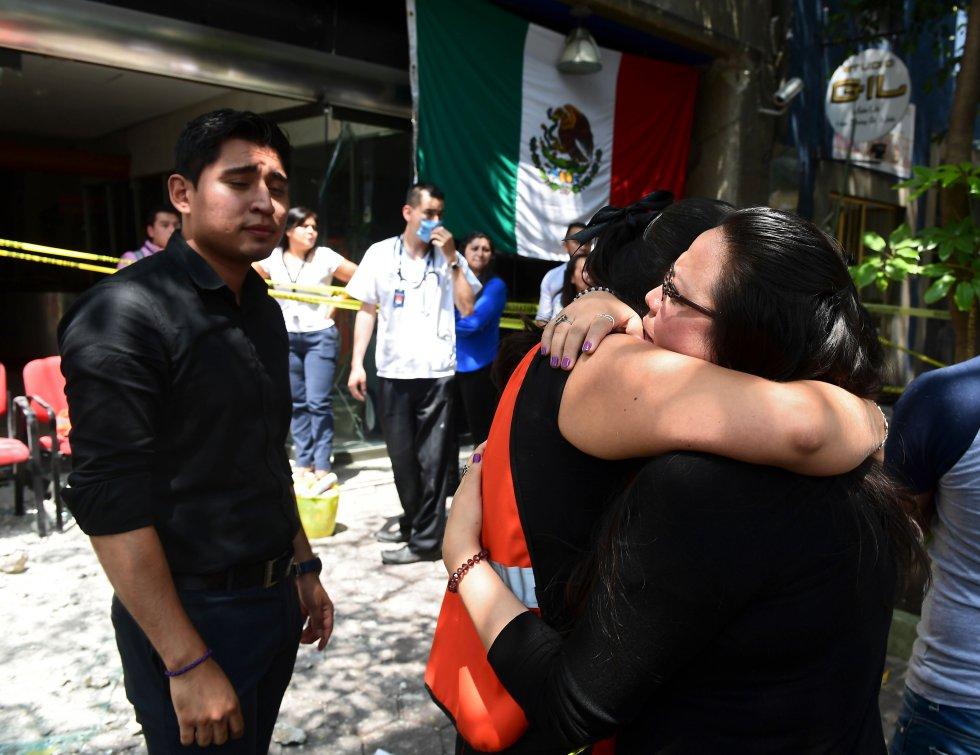 Imágenes Del Terremoto De Hoy: Fotos: Ciudad de México colapsa ante sismo