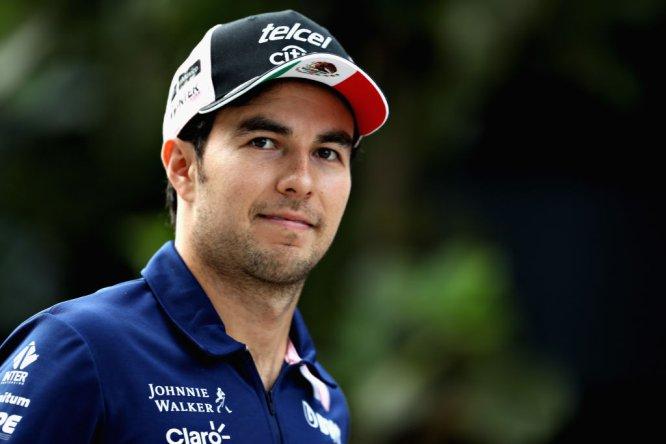 Checo Pérez: Force India y Telmex