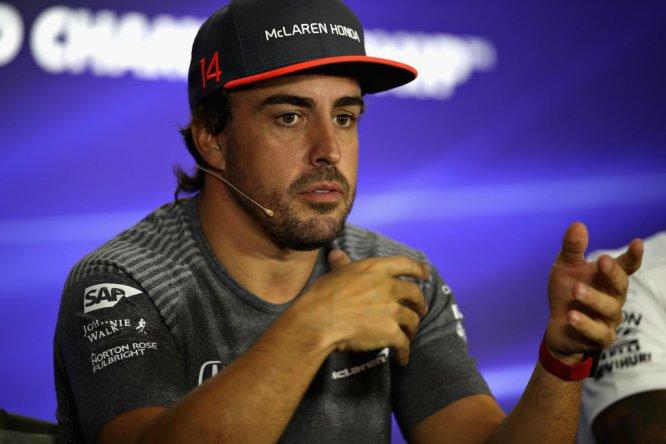 Fernando Alonso: McLaren Honda