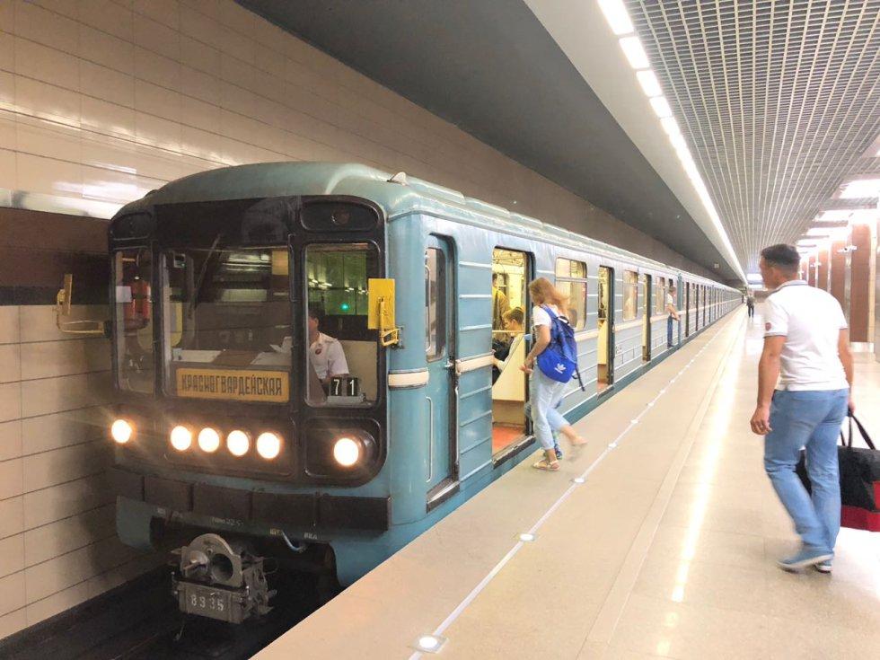 ¡Vámonos en el Metro de Rusia!