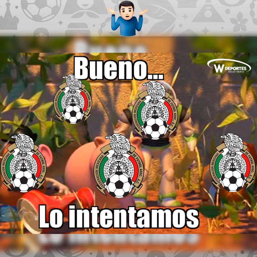 Memes México vs Brasil Rusia 2018: La eliminación de México en Memes