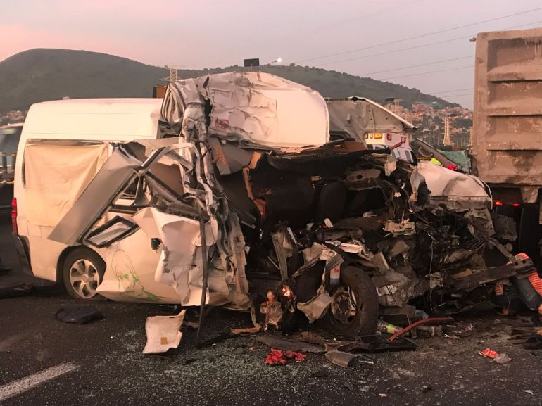 Accidente en la México-Pachuca