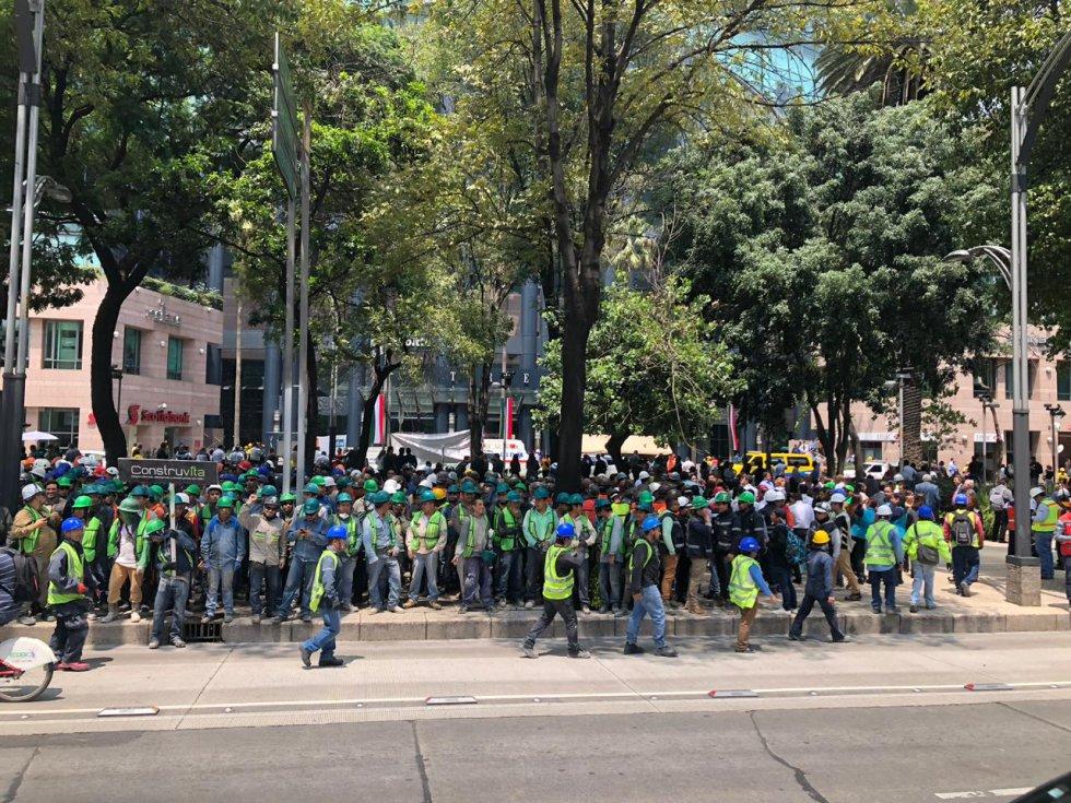 Simulacro 2018 en las calles de la CDMX.