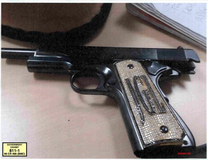 Pistola de El Chapo