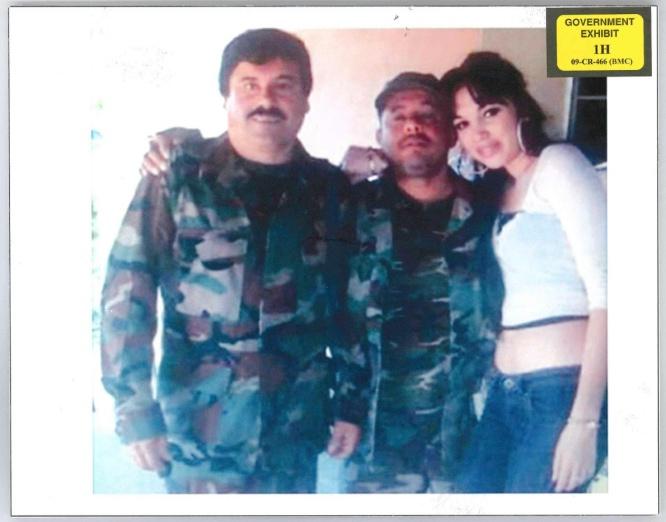El Chapo Guzmán y Alex Cifuentes