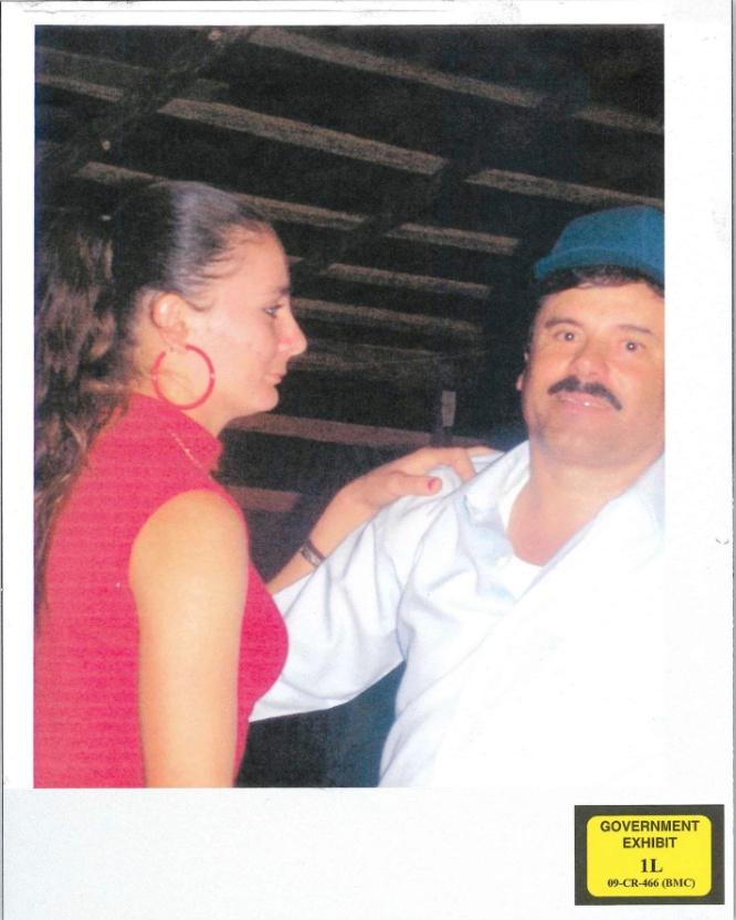 El Chapo en una fiesta