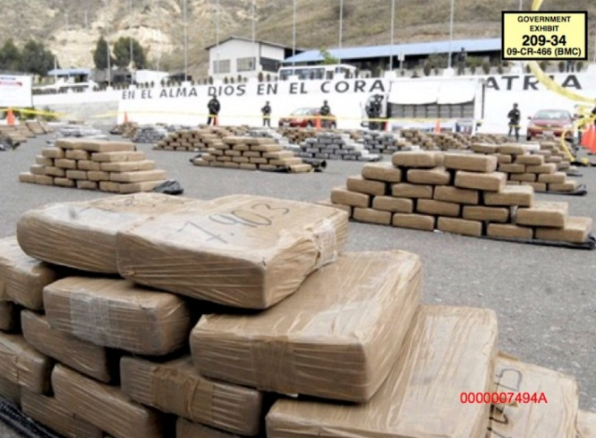 Cargamento de cocaina de El Chapo Guzman