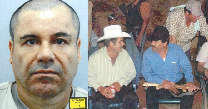 El Chapo fotos en su juicio