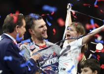Los Patriotas ganan el Super Bowl