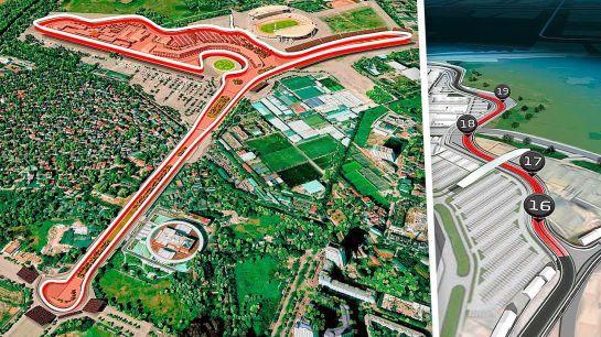 Ésta será la pista que se recorrerá en Fórmula 1 Vietnam en 2020